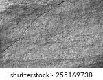 Stratified Rocks In A Cliff Face