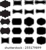 vector elements for your design ... | Shutterstock .eps vector #255179899
