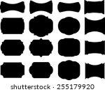 vector elements for your design ... | Shutterstock .eps vector #255179920