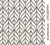 seamless pattern. graphic... | Shutterstock .eps vector #255183994