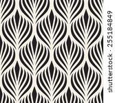seamless pattern. elegant... | Shutterstock .eps vector #255184849