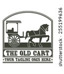 The Old Cart Is A Vintage And...