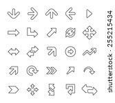 25 outline  universal arrows...