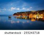Ohrid Lake After Sunset