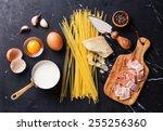 Ingredients For Pasta Carbonara ...