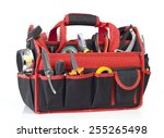 toolbox isolated on white | Shutterstock . vector #255265498
