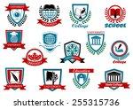 school  university or college... | Shutterstock .eps vector #255315736