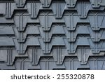 plastic pattern  abstract... | Shutterstock . vector #255320878