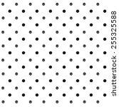 Seamless Polka Dot Pattern Wit...