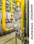 boiler gas pipelines with...   Shutterstock . vector #255339499