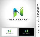 Letter N Logo Design. Creative...