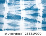 abstract tie dyed fabric... | Shutterstock . vector #255519070