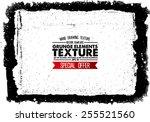 grunge texture   abstract stock ... | Shutterstock .eps vector #255521560