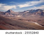 view from licancabur volcano | Shutterstock . vector #25552840