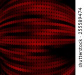 black and red abstract... | Shutterstock .eps vector #255589474