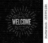 abstract creative concept... | Shutterstock .eps vector #255591184