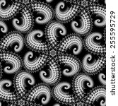 spiny spirals | Shutterstock . vector #255595729