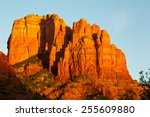 Sunset At Cathedral Rock In...