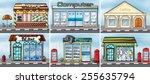 different kind of shops