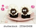 Cute Spring Sheep Cupcakes On...