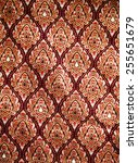asia fabric color background... | Shutterstock . vector #255651679