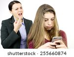 Teenager Addicted With Cell...