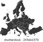 Detailed Vector Map Of The...