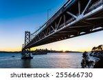 san francisco oakland bay... | Shutterstock . vector #255666730