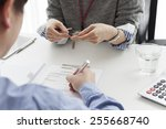 rental agreement | Shutterstock . vector #255668740