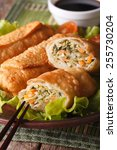 Asian Fried Spring Rolls...