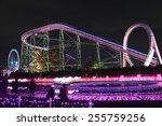 Illumination Of  Amusement Park