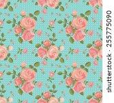vector seamless pattern of... | Shutterstock .eps vector #255775090