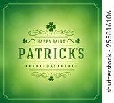 Typographic Saint Patrick's Day ...