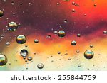 Oil And Water Abstract In...