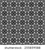 pattern seamless design vector... | Shutterstock .eps vector #255859588