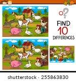 cartoon illustration of finding ...   Shutterstock . vector #255863830