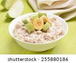 Oatmeal Porridge With Apple And ...