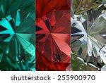 background of jewelry gemstone | Shutterstock . vector #255900970