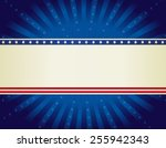 usa patriotic 4 th of july... | Shutterstock .eps vector #255942343