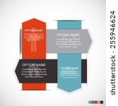 infographic templates for... | Shutterstock .eps vector #255946624