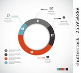 infographic templates for...   Shutterstock .eps vector #255956386