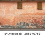 Old Wall With Peeling Paint ...