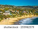 view of the pacific coast from... | Shutterstock . vector #255982579