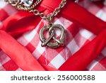 detail of dirndl | Shutterstock . vector #256000588