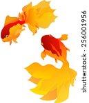 goldfish | Shutterstock .eps vector #256001956