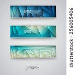 business design templates. set... | Shutterstock .eps vector #256005406