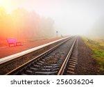 Suburban Railway Station In Th...