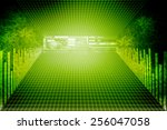 digital abstract business