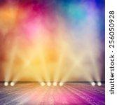 background in show. vector... | Shutterstock .eps vector #256050928