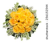 Yellow Roses Wedding Bouquet...